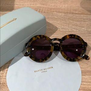 Karen Walker Roundframr Sunglasses